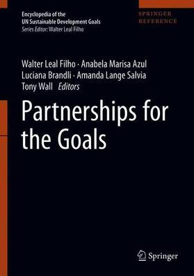 Leal Filho / Azul / Brandli | Partnerships for the Goals | Buch | sack.de