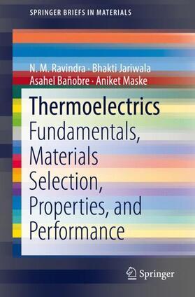 Ravindra / Jariwala / Bañobre | Thermoelectrics | Buch | Sack Fachmedien