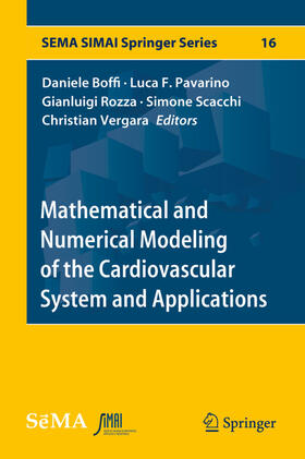Boffi / Pavarino / Rozza   Mathematical and Numerical Modeling of the Cardiovascular System and Applications   Buch   sack.de
