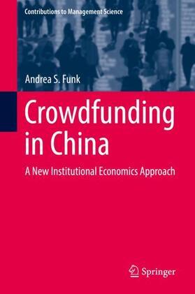 Funk   Crowdfunding in China   Buch   sack.de