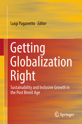 Paganetto | Getting Globalization Right | Buch | sack.de