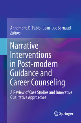 Di Fabio / Bernaud   Narrative Interventions in Post-modern Guidance and Career Counseling   Buch   Sack Fachmedien