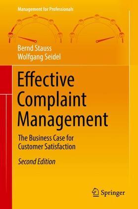 Stauss / Seidel   Effective Complaint Management   Buch   sack.de