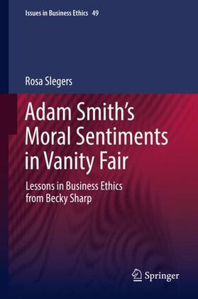 Slegers | Adam Smith's Moral Sentiments in Vanity Fair | Buch | sack.de