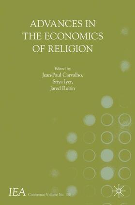 Carvalho / Iyer / Rubin   Advances in the Economics of Religion   Buch   sack.de