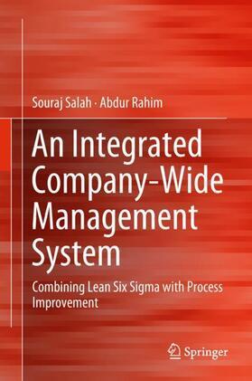 Salah / Rahim | An Integrated Company-Wide Management System | Buch | sack.de