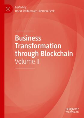 Treiblmaier / Beck   Business Transformation through Blockchain   Buch   sack.de