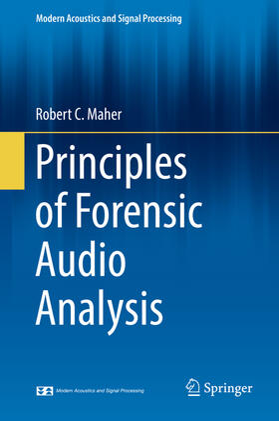 Maher | Principles of Forensic Audio Analysis | Buch | sack.de