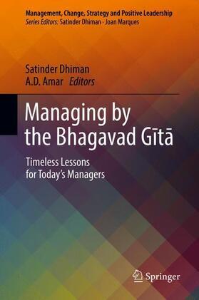 Dhiman / Amar | Managing by the Bhagavad Gita | Buch | sack.de