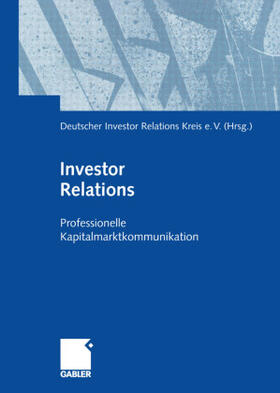 Deutscher Investor Relations Kreis e.V. | Investor Relations | Buch | sack.de