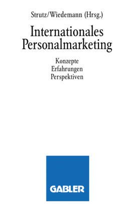 Strutz / Wiedemann Klaus   Internationales Personalmarketing   Buch   sack.de