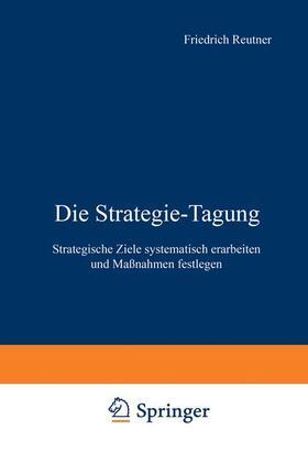 Die Strategie-Tagung | Buch | sack.de
