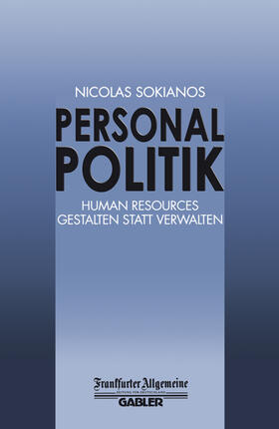 Personal Politik | Buch | sack.de