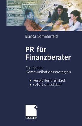Sommerfeld   PR für Finanzberater   Buch   sack.de