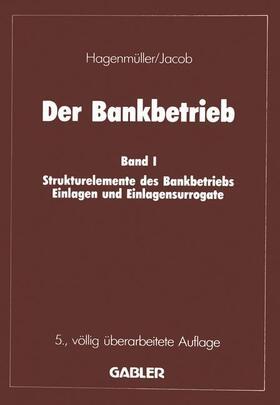 Jacob   Der Bankbetrieb   Buch   sack.de