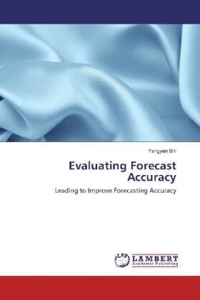 Shi | Evaluating Forecast Accuracy | Buch | sack.de