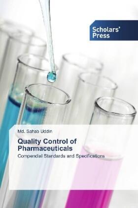 Uddin | Quality Control of Pharmaceuticals | Buch | sack.de