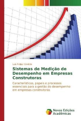 Cândido | Sistemas de Medição de Desempenho em Empresas Construtoras | Buch | sack.de