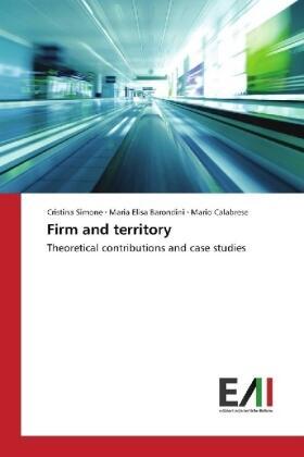 Simone / Barondini / Calabrese | Firm and territory | Buch | sack.de