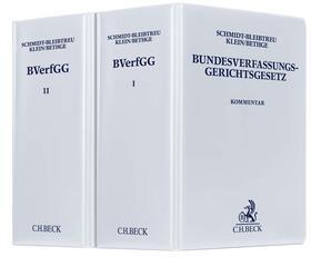 Maunz/Schmidt-Bleibtreu/Klein | Bundesverfassungsgerichtsgesetz, mit Fortsetzungsbezug | Loseblattwerk
