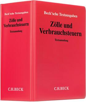 | Zölle und Verbrauchsteuern, mit Fortsetzungsbezug | Loseblattwerk | sack.de