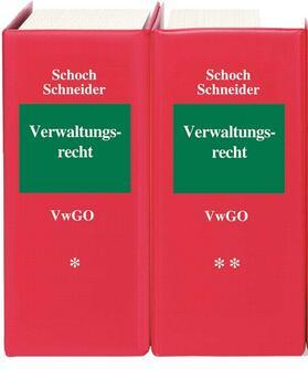 Schoch/Schneider/Bier   Verwaltungsgerichtsordnung: VwGO, mit Fortsetzungsbezug   Loseblattwerk   sack.de