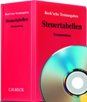 Steuertabellen, mit Fortsetzungsbezug | Loseblattwerk | sack.de