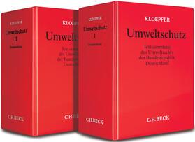 Kloepfer | Umweltschutz, mit Fortsetzungsbezug | Loseblattwerk | sack.de
