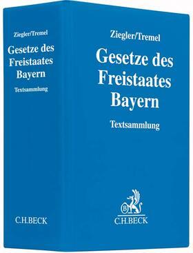 Ziegler / Tremel   Gesetze des Freistaates Bayern, mit Fortsetzungsbezug   Loseblattwerk   sack.de