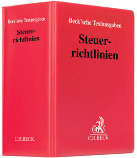 Steuerrichtlinien, mit Fortsetzungsbezug | Loseblattwerk | sack.de
