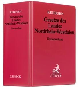 Hippel / Rehborn | Gesetze des Landes Nordrhein-Westfalen, mit Fortsetzungsbezug | Loseblattwerk | sack.de