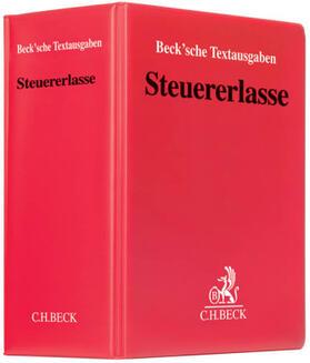 Steuererlasse   Loseblattwerk   sack.de