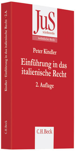 Kindler | Einführung in das italienische Recht | Buch | sack.de