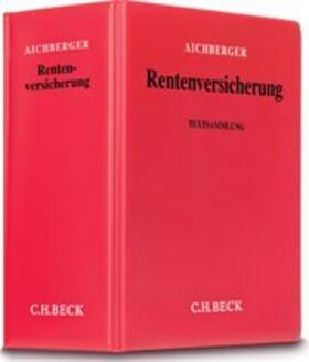 Aichberger | Rentenversicherung, ohne Fortsetzungsbezug | Loseblattwerk | sack.de