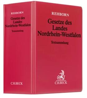 Rehborn (vormals v. Hippel / Rehborn)   Gesetze des Landes Nordrhein-Westfalen, ohne Fortsetzungsbezug   Loseblattwerk   sack.de