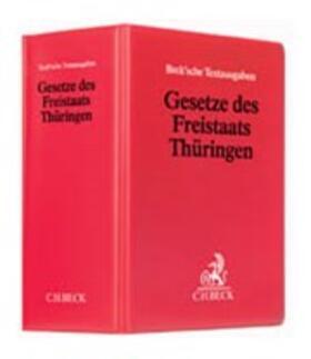 | Gesetze des Freistaates Thüringen, ohne Fortsetzungsbezug | Loseblattwerk | sack.de