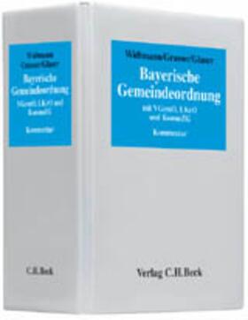 Widtmann / Grasser / Glaser | Bayerische Gemeindeordnung, ohne Fortsetzungsbezug | Loseblattwerk | sack.de