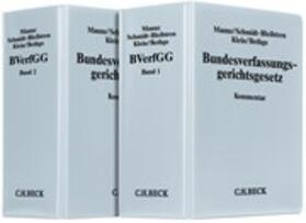 Maunz/Schmidt-Bleibtreu/Klein | Bundesverfassungsgerichtsgesetz, ohne Fortsetzungsbezug | Loseblattwerk | sack.de