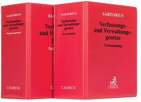Sartorius | Verfassungs- und Verwaltungsgesetze, mit Fortsetzungsbezug | Loseblattwerk | sack.de