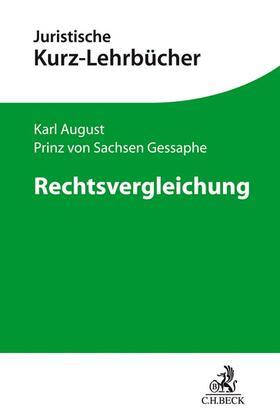 Sachsen Gessaphe | Rechtsvergleichung | Buch | sack.de