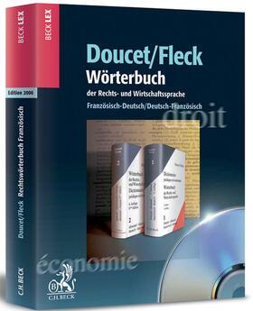 Doucet / Fleck / Doucet | Wörterbuch der Rechts- und Wirtschaftssprache | Sonstiges | sack.de