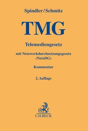 Spindler / Schmitz / Geis | Telemediengesetz: TMG | Buch | sack.de