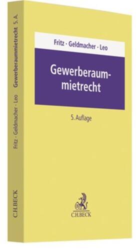 Fritz | Gewerberaummietrecht | Buch | sack.de
