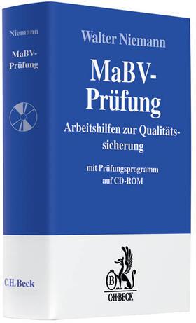 Niemann | MaBV-Prüfung, m. CD-ROM | Buch | sack.de