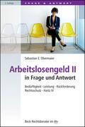 Obermaier    Arbeitslosengeld II in Frage und Antwort   Buch    Sack Fachmedien
