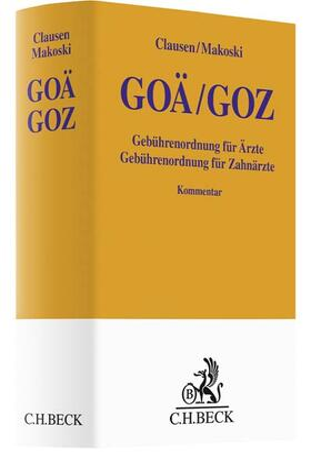 Clausen / Makoski | GOÄ / GOZ | Buch | sack.de