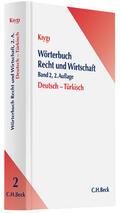 Kiygi |  Wörterbuch Recht und Wirtschaft | Buch |  Sack Fachmedien