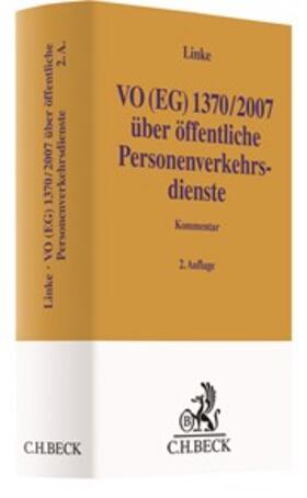 Linke | VO (EG) 1370/2007 | Buch | sack.de