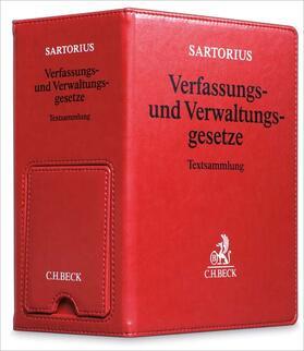 Verfassungs- und Verwaltungsgesetze der Bundesrepublik Deutschland  Premium-Ordner 86 mm in Lederoptik mit integrierter Buchstütze | Buch | sack.de