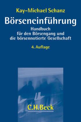 Schanz   Börseneinführung   Buch   sack.de